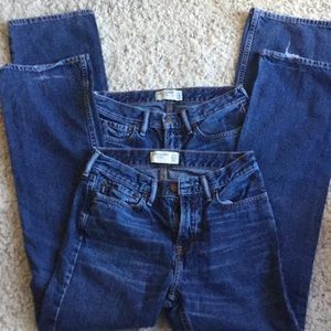 Two pair boys jeans